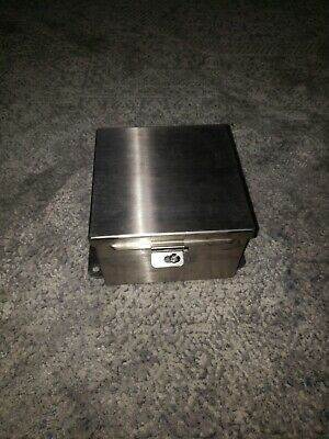 Hoffman A606chnfss Stainless Steel Junction Box 6x6x4 Enclosure Ss Jic Box 56260