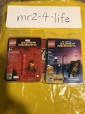 Lego SDCC 2017 Exclusive Minifigures Deadpool Duck and Vixen New Free Shipping