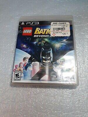 PS3 LEGO BATMAN 3: BEYOND GOTHAM Sony PLAYstation 3 2014 in Case with Insert