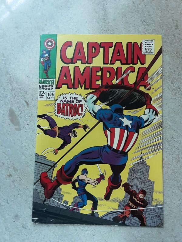 Captain America # 105, Sept.1968