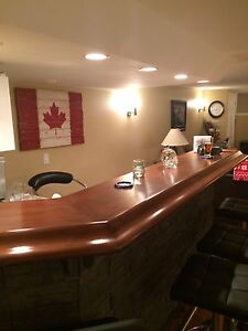 Custom butcher block counter tops/Bar tops