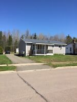 Large home with attached garage off Hennessey