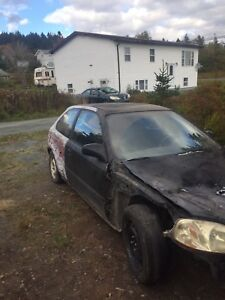 1999 Honda Civic Hatchback for scrap
