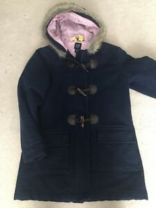Girls GAP navy blue winter jacket