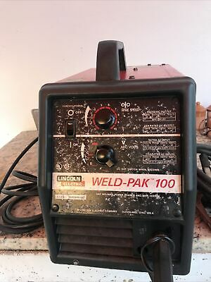 Lincoln Electric Weld Pak 100hd Mig Welder 115v With Welding Jacket