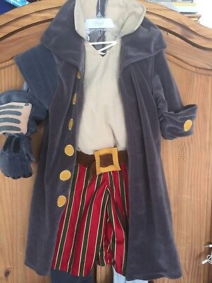 NWT Disney Store Treasure Planet John Silver Pirate Plush Costume Size XXS