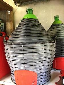 53 litre demijohns for wine City Beach Cambridge Area Preview
