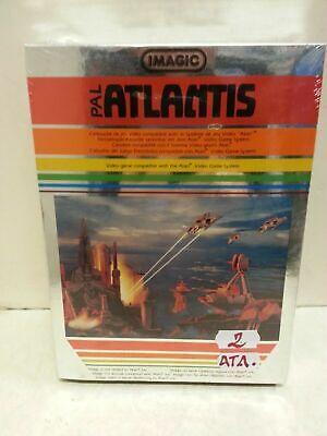 Atlantis Pal Cartuccia per Atari Imagic Vintage