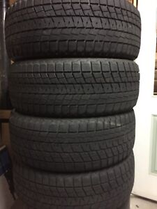 4-245/50R20 Bridgestone blizzak winter tires