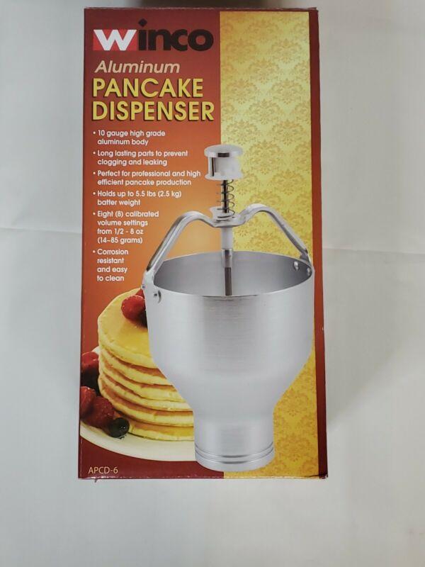 Winco APCD-6 Aluminum Pancake Dispenser