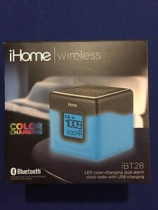 iHome LED dual alarm clock
