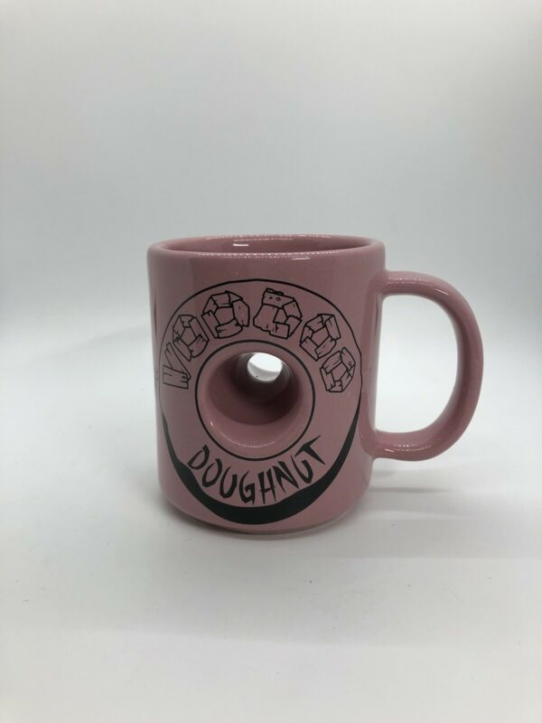 Voodoo Donut Magic in the Hole pink mug