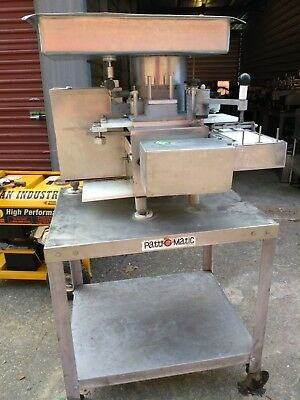 Patty-o-matic Patty Model 330a Machines Patty Maker 115v On Table Wcasters