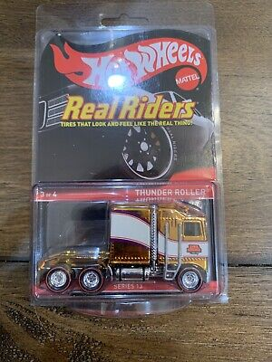 Hot Wheels RLC Series 13 Real Riders #3/4 Thunder Roller 2757/4000