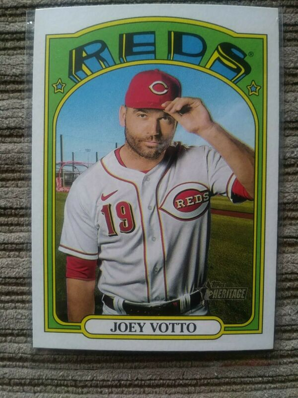 2017 Topps Chrome #94 Joey Votto Cincinnati Reds Baseball Card