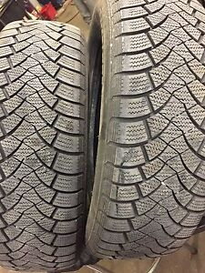 2 Racealone Snoway winter tires 195-65-15 Gatineau Ottawa / Gatineau Area image 1