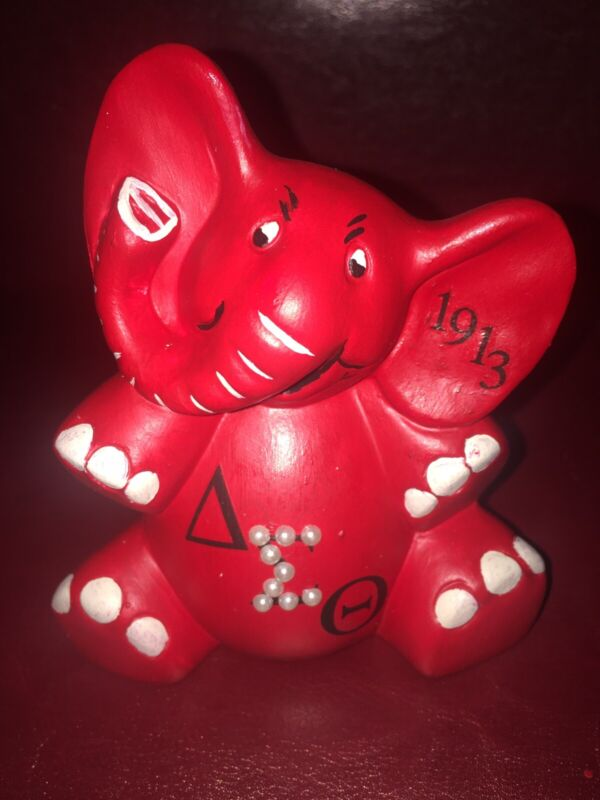 Delta Sigma Theta Sorority Happy Go Lucky Elephant!!