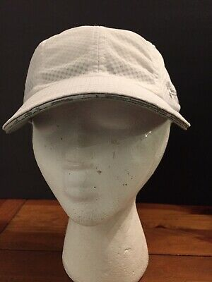 Women's Under Armour White Featherweight Quick Dry Running Hat Adjustable
