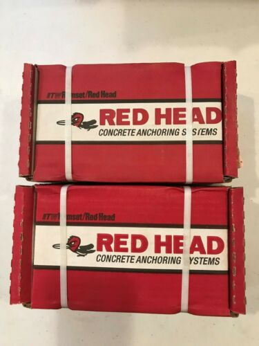 "50 Red Head Concrete Sleeve Anchors 1/2"" x 4"" #11285 NEW"