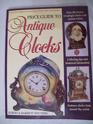 ANTIQUE CLOCKS PRICE GUIDE COLLECTOR'S BOOK Wall Mantel Shelf Grandfather +++