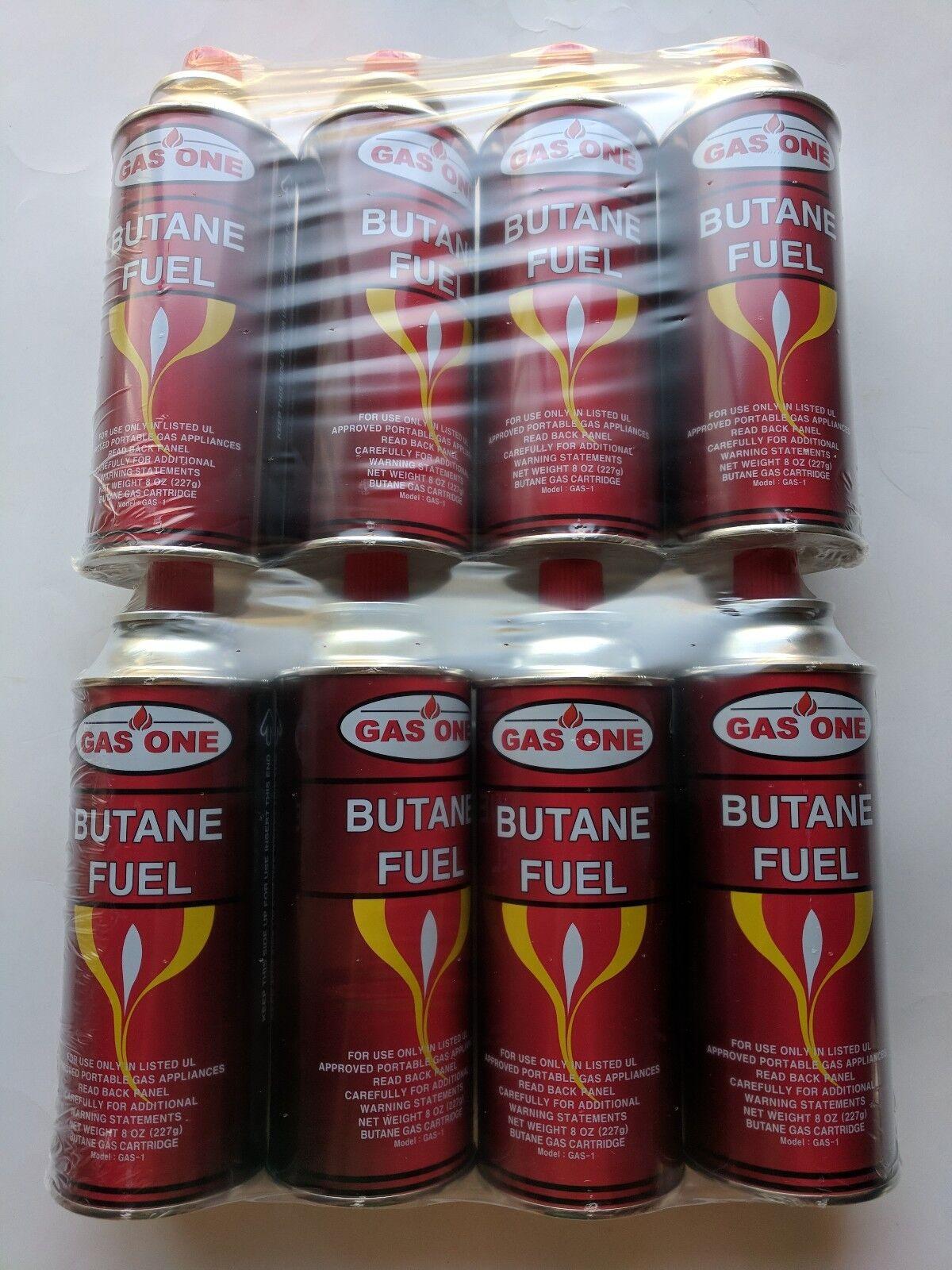 GasOne Butane Fuel Portable Stove Burner Camping 8 oz Canist