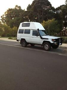2003 Toyota LandCruiser troopcarrier hightop camper . Busselton Busselton Area Preview