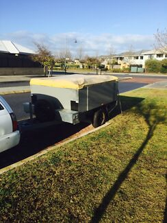 Camper trailer swap for 16 ft caravan  Secret Harbour Rockingham Area Preview