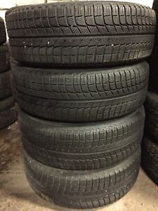 4 almost new winter 225/60/17 Michelin xice
