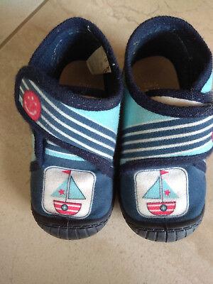 Krabbel Baby Lauflern Schuhe Hausschuhe Gr 21 Jungen