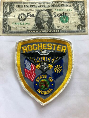 Rochester Indiana Police Patch Un-sewn great shape