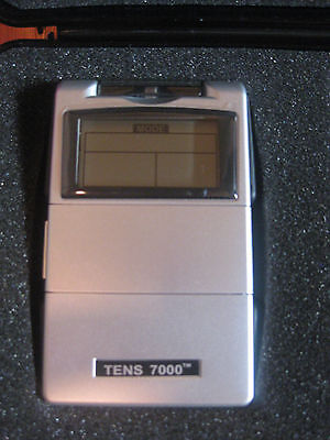 """TENS 7000 Electrotherapy """"Most Powerful"""" TENS Unit w/ 5 Modes and Timer"""