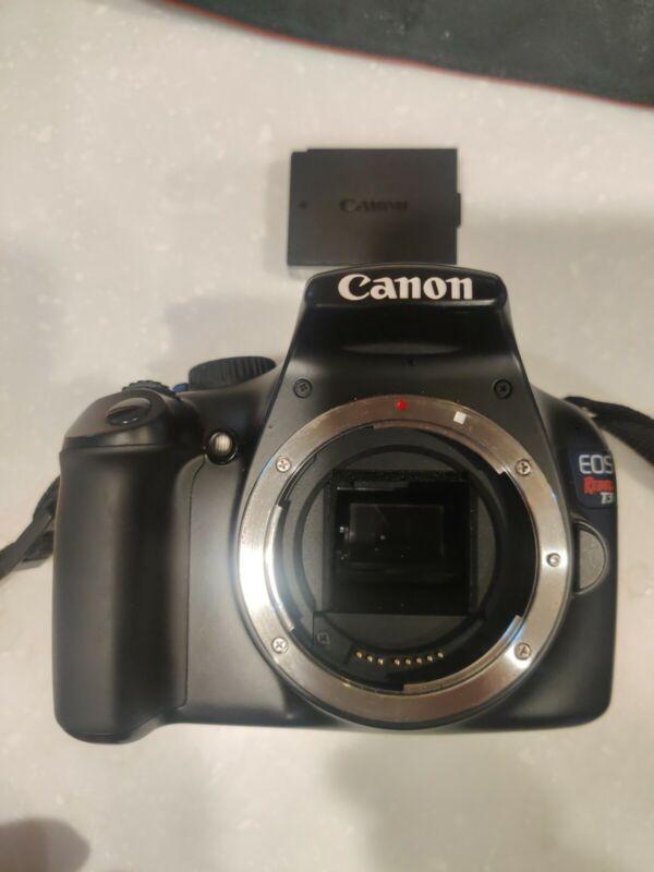 Canon EOS Rebel T3 EOS 12.0MP Digital SLR Camera Black BODY