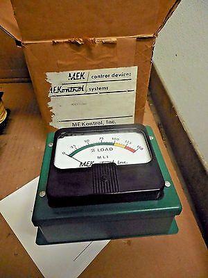 Mekcontrol Motor Load Indicator Mek.2127-g 0-150