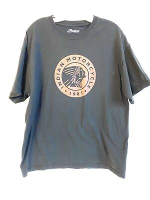24-288 Vintage Unisex Adult Indian Motorcycle T Shirt