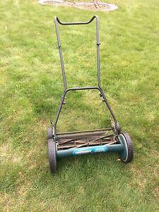 """18"""" yardworks reel mower"""