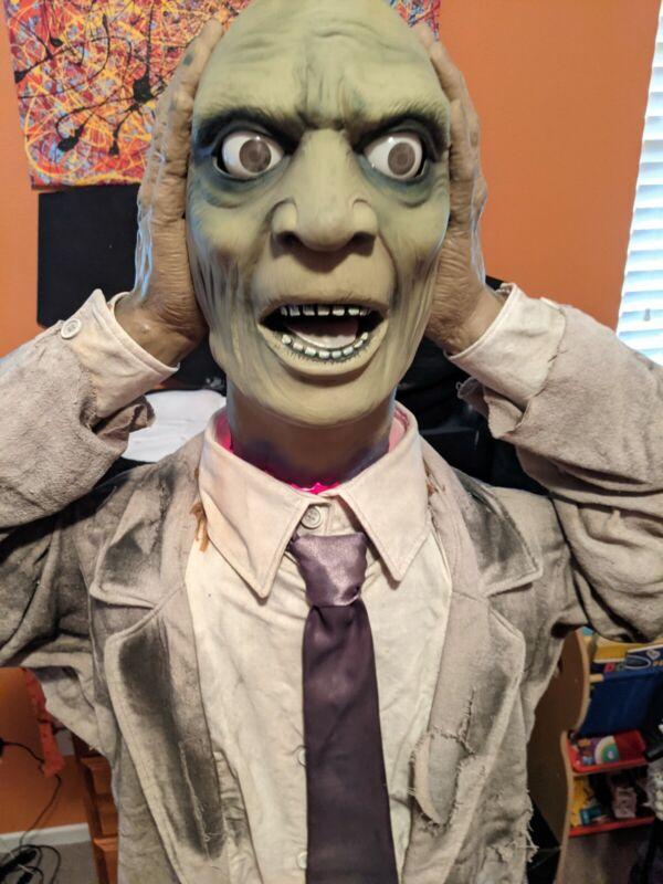 "Vintage Halloween 70""  Heads Up Harry Animatronic  By Gemmy Spirit Morbid"