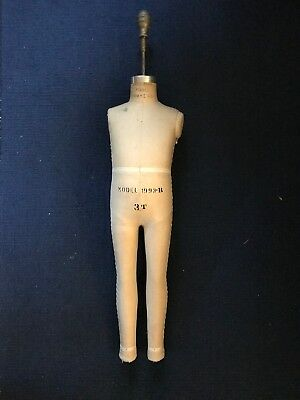 Vintage Superior Dress Form Mannequin Child 3t