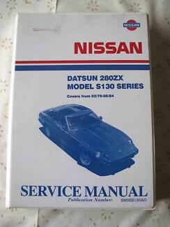 NISSAN DATSUN 280ZX ALL S-130 SERIES FACTORY SERVICE MANUAL