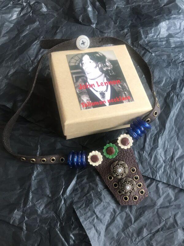 John Lennon Talisman Necklace Replica