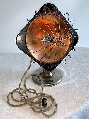 Hanging Electric Space Heater Vintage coil heater
