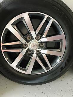 "Toyota Hilux SR5 2016: Wheels and Tyres for sale 18"" alloy wheels"