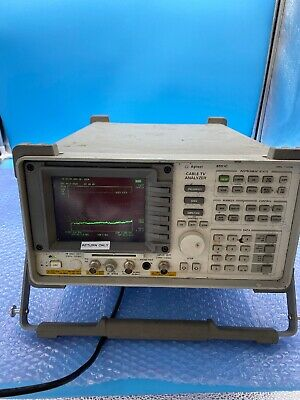 Agilent Hp 8591c Cable Tv Analyzer 1 Mhz - 1.8 Ghz Tracking Gen With Options