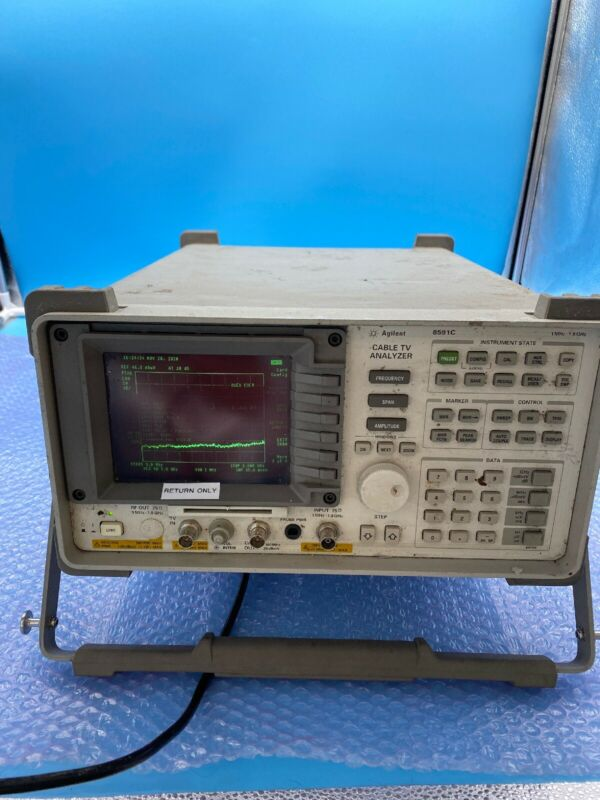 Agilent / HP 8591C Cable TV Analyzer (1 MHz - 1.8 GHz) with options!