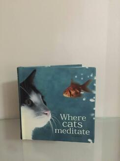 Where Cats Meditate Hardcover Book As New