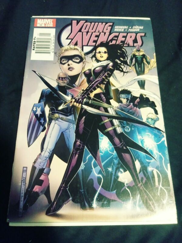 YOUNG AVENGERS #10 VF. FIRST APPEARANCE OF TOMMY SHEPPARD KATE BISHOP