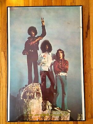 Jimi Hendrix 1969 Rare Vintage Poster