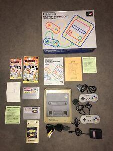 Vintage Japanese Super Nintendo / Super Famicom