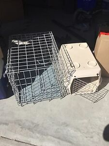 TWO DOG CRATES ****MOVING NEED GONE ASAP****