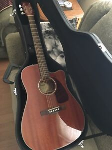 Fender All Mahogany Electric Acoustic w/ HSC