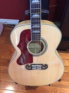 Gibson j200 knock off lefty
